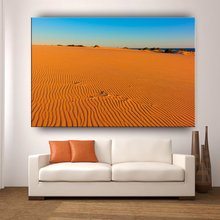 CARB decorative wall hanging picture wooden frame outdoor desert landscape painting