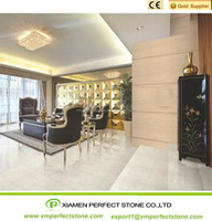 White Marble Wtih Yellow Lines Stone Best For Decorative