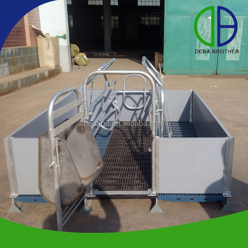Trade Assurance Hot Dip Galvanized Pig Cages Pig Raising Equipment
