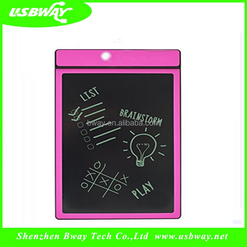 2017 China school stationery lcd writing tablet 12 inch with digital pen touch digital writing board