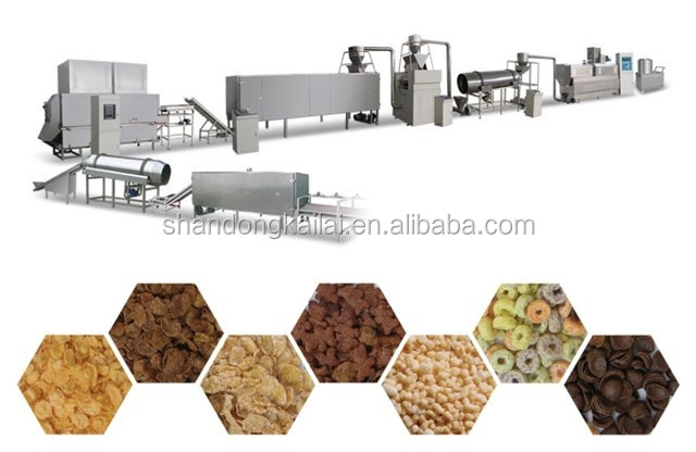 Roasted Corn Flakes Machine /Extruder