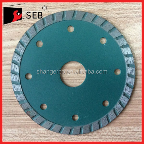 230mm seb good quality diamond segmented type diamond saw blade with flange for cutting granite