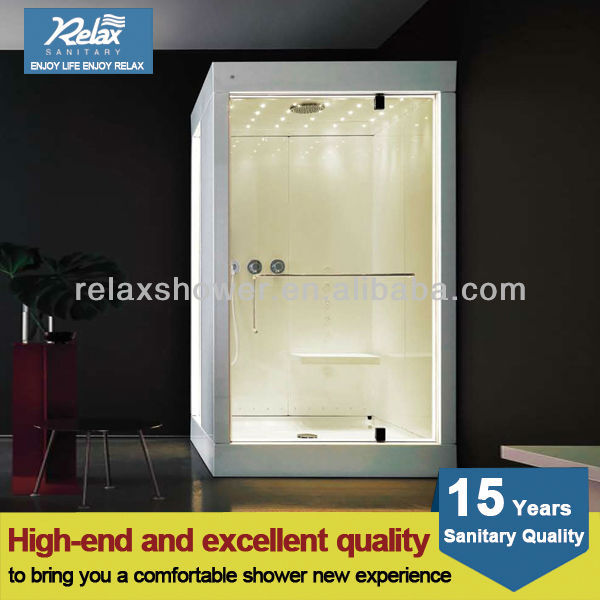 2015 best seller computer controlled steam shower room in uk high quality