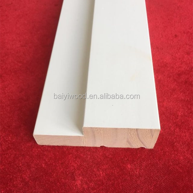 Radiata Pine geeso primed door jamb wood mouldings
