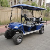 250cc 4 stroke gasoline power off road golf cart for park or farm