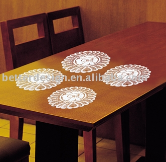 Wholesale Cheap Custom Polyester Damask Doily From China