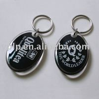 Customized Plastic key chains/ring