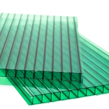 agriculture greenhouse twin wall sunshine pc hollow roofing sheet