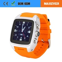 Support 2G / 3G / Wifi Network Gps And Bluetooth Mobile Watch Phone With Video Call