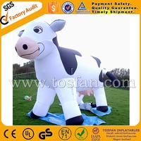 Customized inflatable milk cow hot sale for advertising F1005
