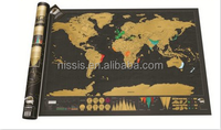 Scratch off travel map Scratch world map Scratch your travel