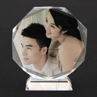 Hot Sales New Fashional Delicate Table Crystal Picture Frame