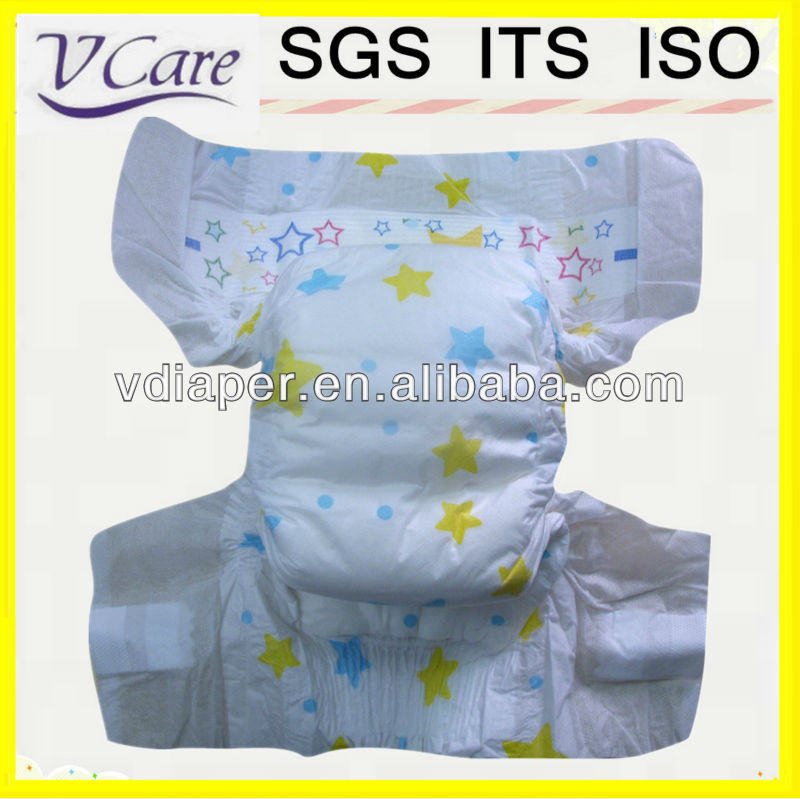 hot sales cloth like film baby diapers baby products manufacturer