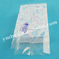 Printed poly bag packing paper napkin/ nappy