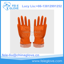 China long latex rubber gloves luvas de borracha