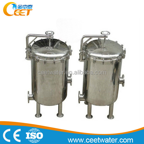 bag filter water treatment system/equipment for food industry, industrial waste water