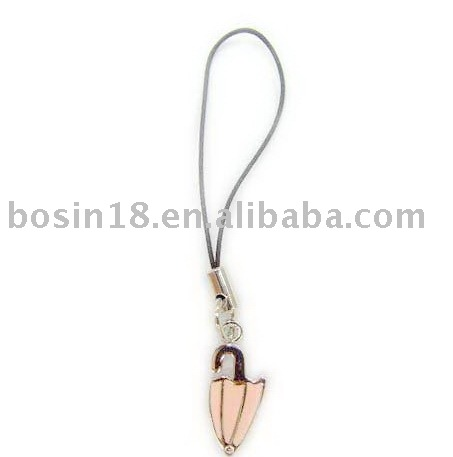 pink mobile chain/lovely cellphone strap/summer phone charm(8714)