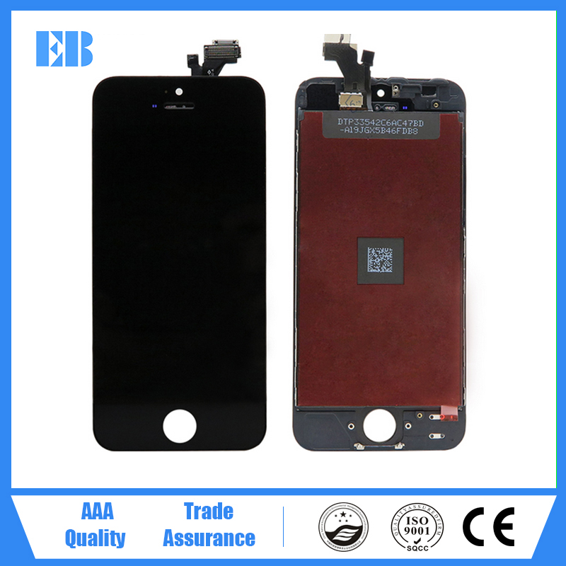 New lcd screen repair for iphone 5c lcd and digitizer for iphone 5c touch panel with lcd