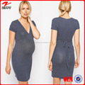 Wholesale Bodycon Printe Maternity Dresses for Office