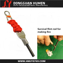 New design outdoor camping flint fire starter for survival tool