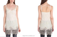 Women Lace Beading Camisole Top