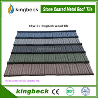 Kingbeck Stone Coated Roof Tile, Colorful Stone Coated Metal Roofing Tile