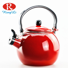 High quality enamel water kettle, enamel whistling tea kettles