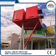 Hot sell delicate multicolor container house, quick build prefab container house