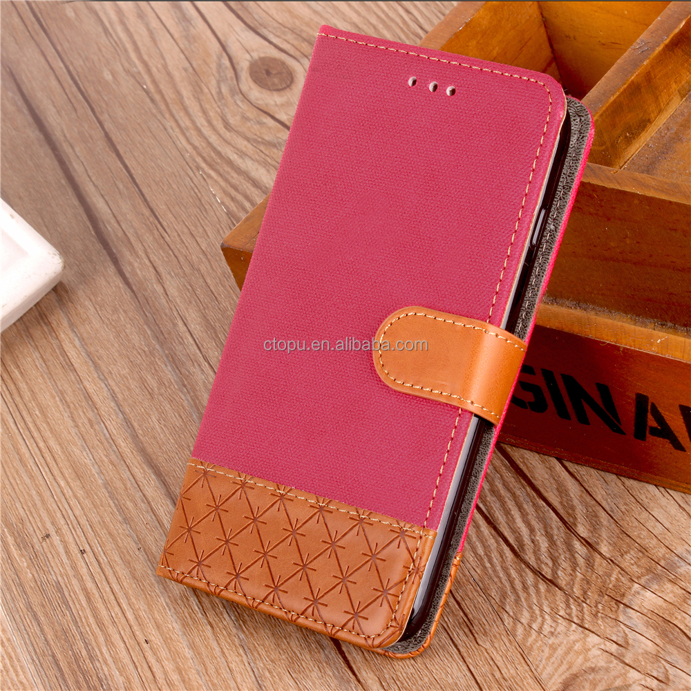 Smart Stand Magnetic New Leather Case Cover For LG G6