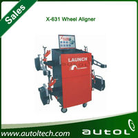 [LAUNCH Authorized Distributor] wheel alignment X631 wheel aligner from launch company