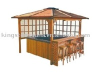 wooden gazebo for hot tubs/garden/home yard