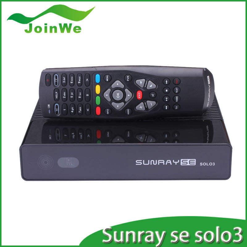 sunray se solo3 DVB-S2/C/T single tuner option with 2 usb port Satellite TV Receiver