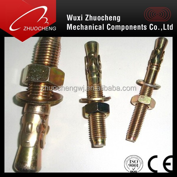 M12 Expansion rock cocrete wedge anchor bolt