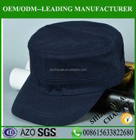 100% Cotton outdoor army hat tank cap and hats without logo flat top military cap hat sale online
