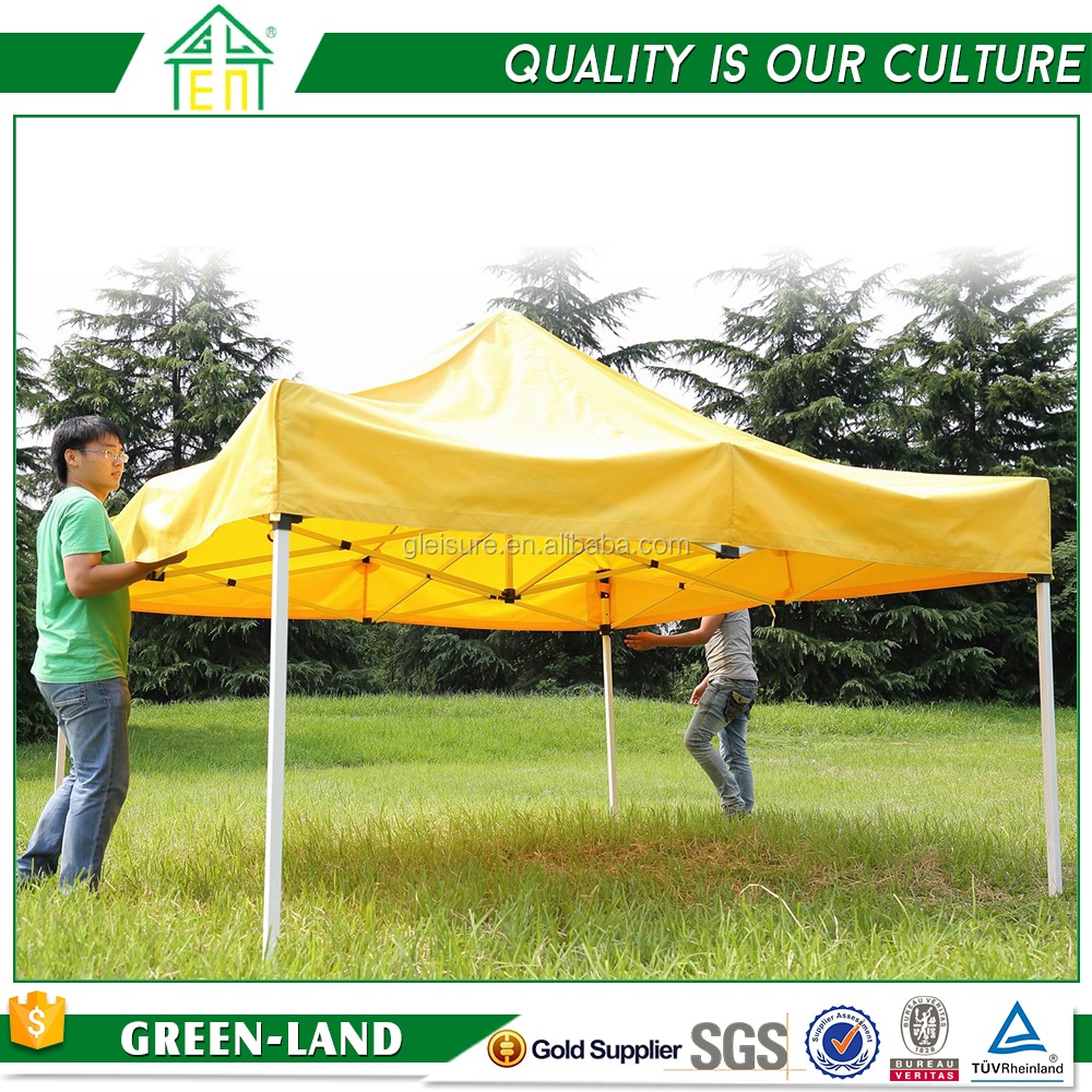 Hot sale pop up aluminum marquee 4x4 canopy tent