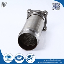 Sell well superior quality reduces air pollution Interlock metal hose with clamps
