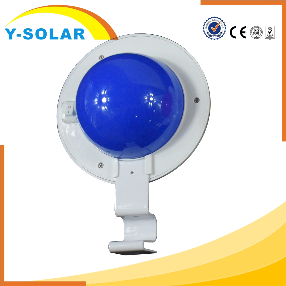 Y-SOLAR Hot Selling 5 LED Outdoor Garden Fence LED Solar Gutter Light