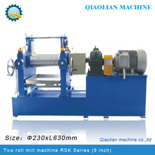 CSM rubber Two Roll Mill With Wear-Resistant Dongguan Manufacture
