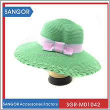 Perfect classical high quality sun shade straw hat