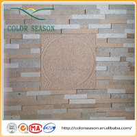 vermiculite decorative brick wall