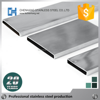 Whole dimensions stainless steel rectangular tube 444