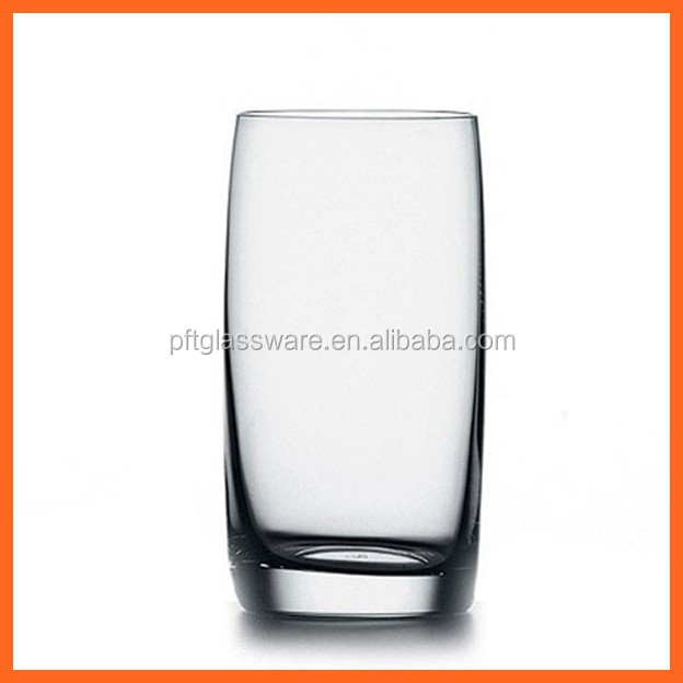 Popular restaurant use high quality water glassware/tall glasses for juice/milk glass