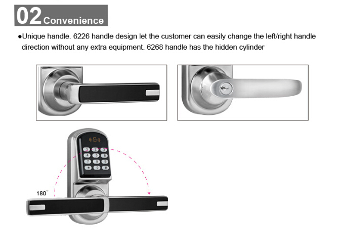 Electric Digital Password Door Lock