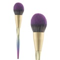 Blush brush, geometrical glitter colorful makeup brushes, color shine custom makeup brush, plastic handle brushes