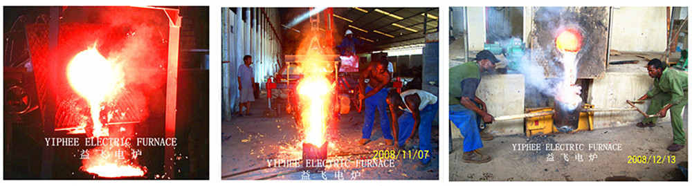 Top Quality Low Power Consumption Cast Copper Melting Furnace