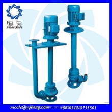 Non clogging vertical corrosion resistance open impeller centrifugal submersible water pump