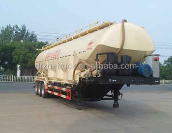 53CBM low density powder material transport semi-trailer for sale
