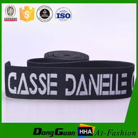 Jacquard Elastic Bands for Male Briefs with custom logo