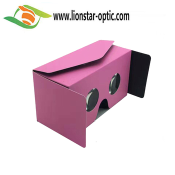Paper Virtual Reality 3D Video VR Headset Glasses Google Cardboard 3D Glasses