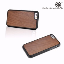 Manufacture Natural wood clear protective hard case cover for iphone 6